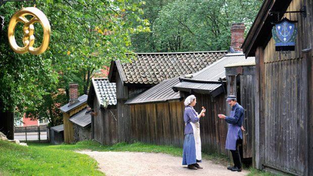 Luostarinmäen käsityöläismuseo Turussa.
