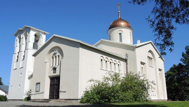 Valamon luostari Heinävedellä.
