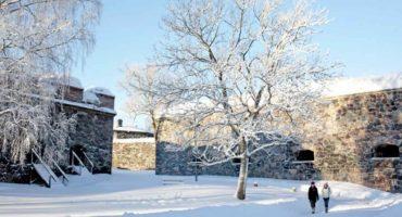 Talvinen Suomenlinna