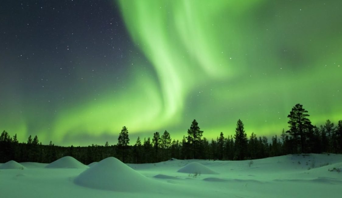 Revontulet Suomessa