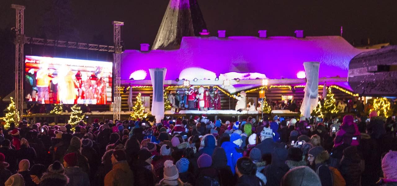 Joulunavaus Rovaniemellä