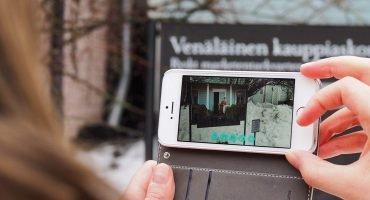 Lisättyä todellisuutta Suomenlinnassa