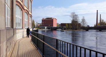 Vapriikinraitti, Tampere